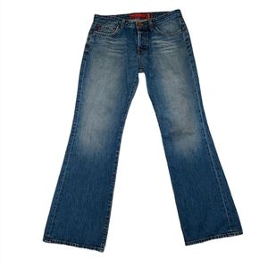 Big Star Roadie Button Fly Boot Cut Jeans 32R